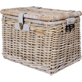 Basil Denton L Bicycle Basket, nature grey